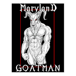 Postal El Maryland Goatman
