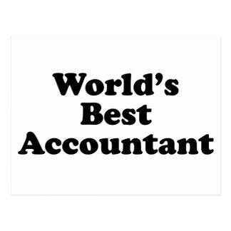 Postal El mejor contable del mundo