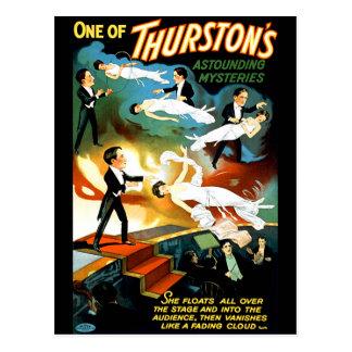 Postal ¡El misterio asombroso de Thurston!