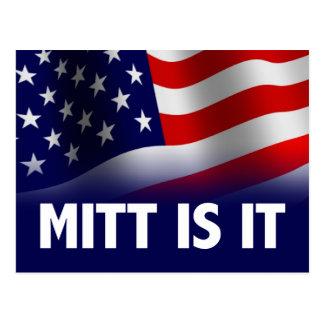 Postal El mitón es él - Romney Ryan 2012