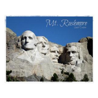 Postal El monte Rushmore