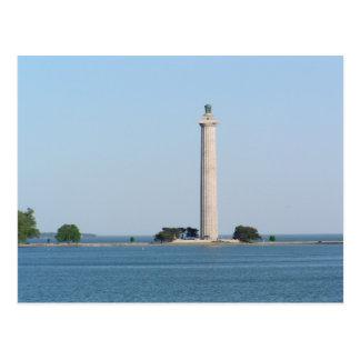 Postal El monumento de Perry