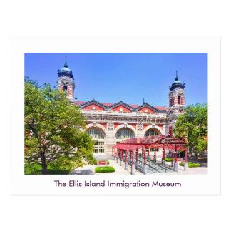 Postal El museo de la inmigración de la isla de Ellis