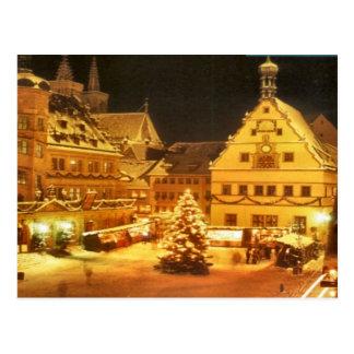 Postal El navidad comercializa en Alemania
