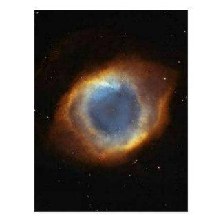Postal El ojo de dios