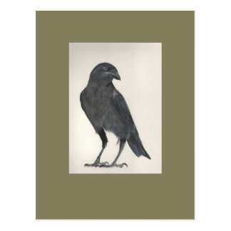 Postal El pájaro orgulloso