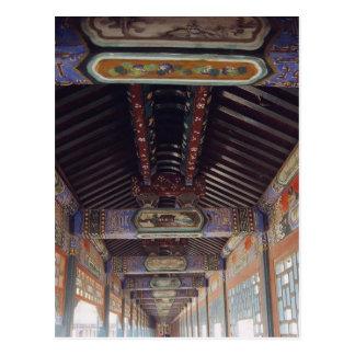 Postal El palacio de verano en Pekín