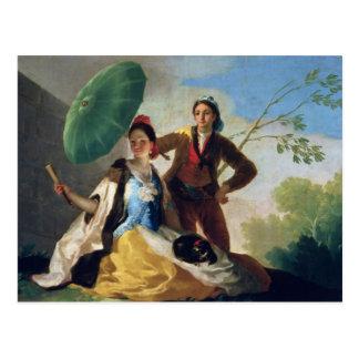 Postal El parasol, 1777
