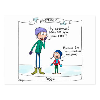 Postal El Parenting es… lógica