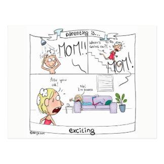 Postal El Parenting… está excitando