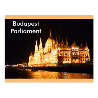 Postal El parlamento de Budapest