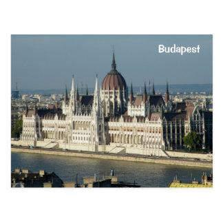 Postal El parlamento de Hungría