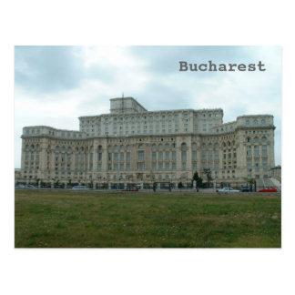 Postal El parlamento rumano