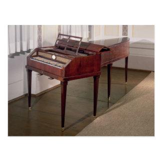 Postal El piano de concierto de Francisco Joseph Haydn