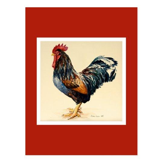 Postal El pollo 2007 de George