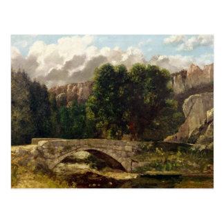 Postal El Pont de Fleurie, Suiza, 1873