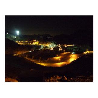 Postal El Preso Hoover por noche