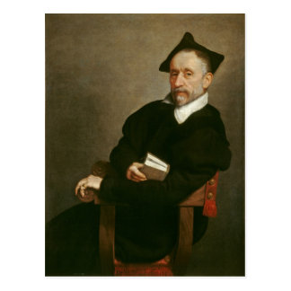 """Postal El """"profesor de Titian"""", C. 1575"""