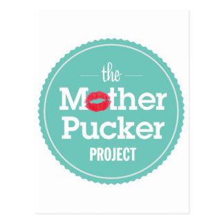 Postal El proyecto del fruncido de la madre