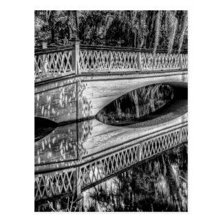 Postal El puente blanco largo (b&w).jpg