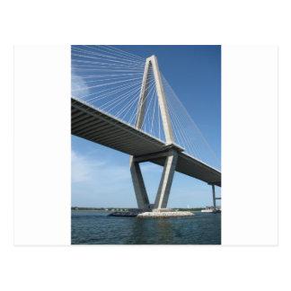 Postal El puente hermoso de Ravenel