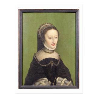 Postal El retrato de una señora, dijo ser el d'Albret de