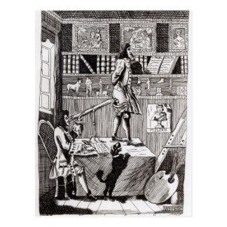 Postal El Richardson complicado, 1724