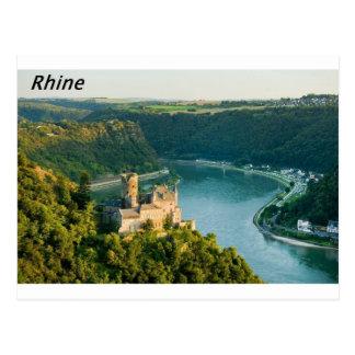 Postal El Rin Alemania Angie
