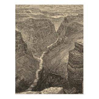 Postal El río Colorado