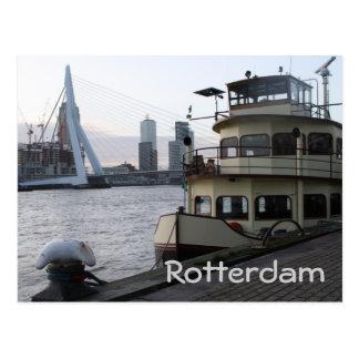 Postal El río Mosa, Rotterdam