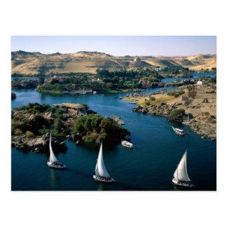 Postal El río Nilo