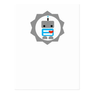 Postal ¡El robot!