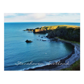Postal ¡El Stonehaven mágico en Escocia hermosa!