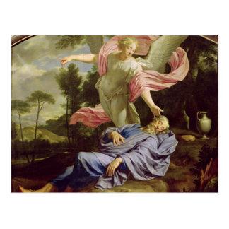 Postal El sueño de Elías, 1650-55