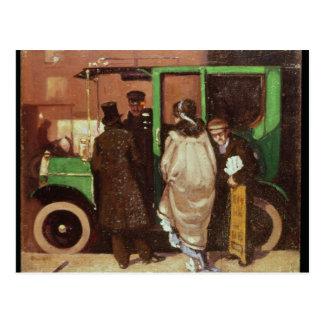 Postal El taxi, c.1908-10