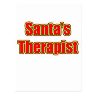 Postal El terapeuta de Santa