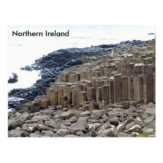 Postal El terraplén del gigante, Co. Antrim, Irlanda del