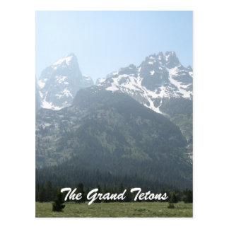 Postal El Tetons magnífico
