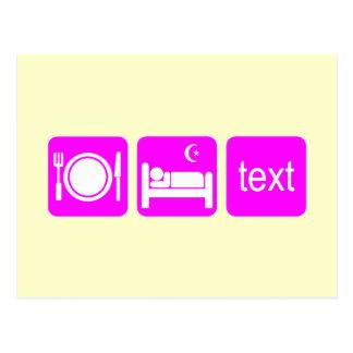 Postal El texting divertido
