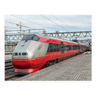 Postal El tren noruego llega Oslo S