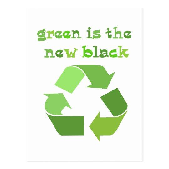 Postal ¡El verde es el nuevo negro!