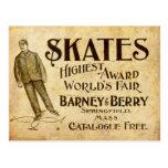 Postal El vintage patina anuncio a partir de 1899