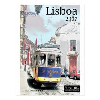 Postal Eléctrico, Lisboa