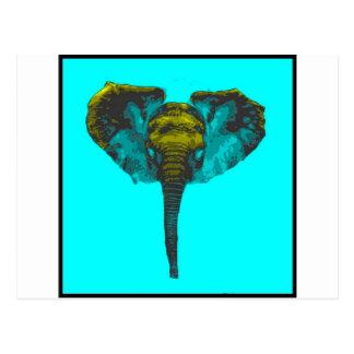 Postal Elefante