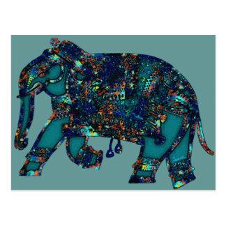 Postal Elefante del ónix