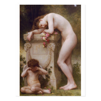 Postal Elegía de William-Adolphe Bouguereau