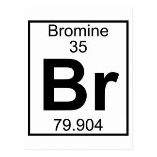 Postal Elemento 035 - Br - bromo (lleno)