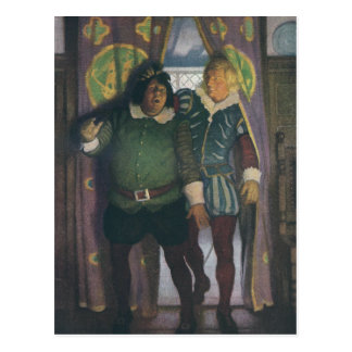 Postal Elizabethans en un mesón