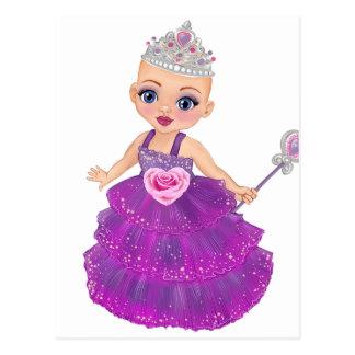 Postal ¿Ella la princesa encantada Who Are You?