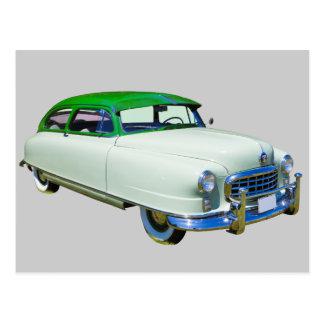 Postal Embajador 1950 de Nash coche antiguo